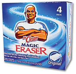 Picture of MR. CLEAN MAGIC ERASER - 4/BX