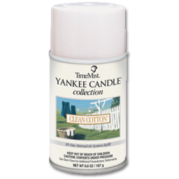 Picture of YANKEE CANDLE- CLEAN COTTON METERED MIST