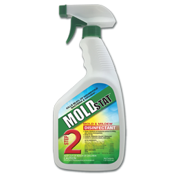MOLDSTAT™ STEP 2 - MOLD AND MILDEW DISINFECTANT - 32 OZ