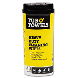 Picture of TUB O' TOWELS CLEANING WIPES 40/TUB