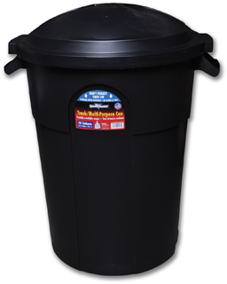 Picture of 32 GAL. TRASH CAN WITH LID