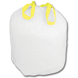 Picture of 12-16 GALLON TALL KITCHEN TRASH BAGS WITH DRAW-TIE 25X30 WHITE 200/CS