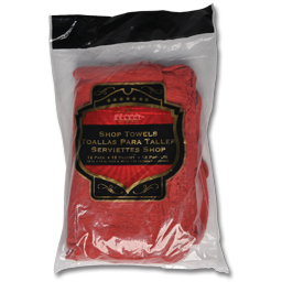 Picture of RED SHOP TOWELS - 12/PK