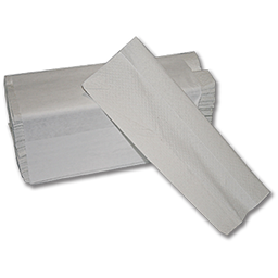 Picture of C-FOLD WHITE HAND TOWELS - 2400/CS
