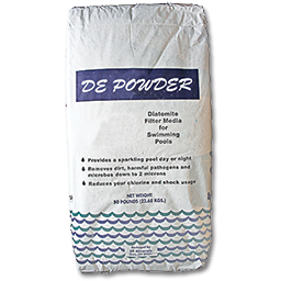 Picture of D E FILTER POWDER FOR POOLS - 50 LB.