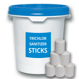 Picture of TRICHLOR CHLORINE STICKS - 50 LB.