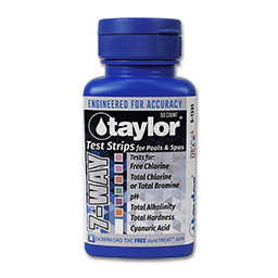Picture of TAYLOR 7-WAY TEST STRIPS - 50/PK
