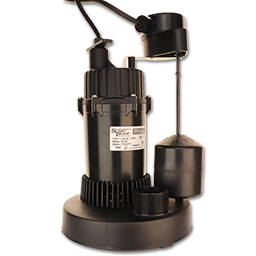 Picture of 1/3HP 115V SUBMERSIBLE SUMP PUMP - 3300GPH