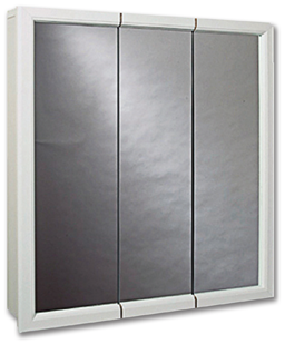 "Picture of 31-3/4"" X 25-5/8"" TRI-VIEW MEDICINE CABINET - WHITE"