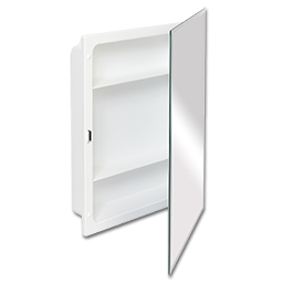 "Picture of 16"" X 22"" BEVELED EDGE FRAMELESS MEDICINE CABINET"