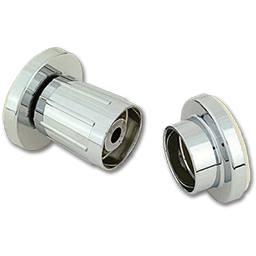 Picture of SHOWER ROD FLANGES ADJUSTABLE CHROME-PLATED PLASTIC