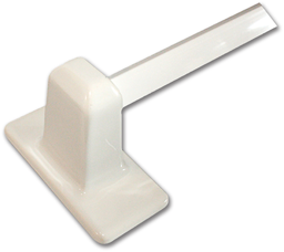 "Picture of 24"" CERAMIC TOWEL BAR SET - WHITE"