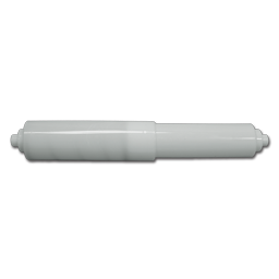 Picture of TOILET TISSUE ROLLER - TWO TIP WHITE PLASTIC