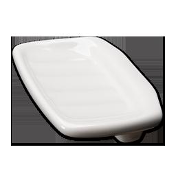 Picture of CERAMIC LAVATORY SOAP DISH CLIP-ON
