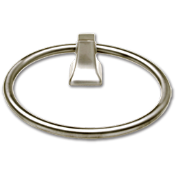 Picture of TOWEL RING - BRUSHED NICKEL