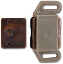 Picture of MAGNETIC CABINET CATCH TAN- 5 PK