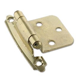 Picture of FLUSH SELF CLOSING HINGE PAIR - POLISHED BRASS