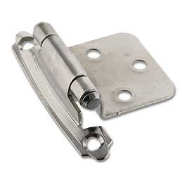 Picture of FLUSH SELF CLOSING HINGE PAIR - POLISHED CHROME