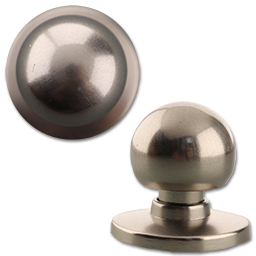 Picture of 36063- BIFOLD KNOB SATIN NICKEL - ROUND