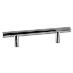"""DECORATIVE CABINET PULL - POLISHED CHROME 156MM 6"""""""