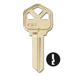 KWIKSET KW1 KEY BLANKS 5 PIN FOR KWIKSET - 50/BX