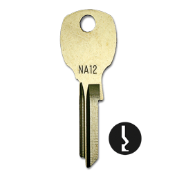Picture of NA12 KEY BLANKS FOR NATIONAL - 50/BX