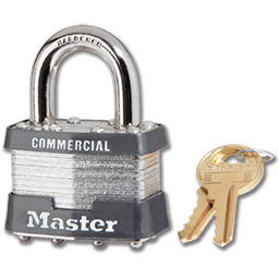 Picture of #1KA MASTER PADLOCK - KEYED ALIKE