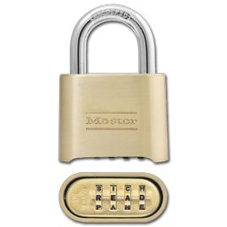 Picture of #175 MASTERLOCK COMBINATION PADLOCK