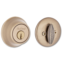 Picture of 660 X 5 KWIKSET SINGLE CYLINDER DEADBOLT - AB