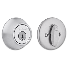 Picture of KWIKSET SINGLE CYLINDER DEADBOLT - SATIN CHROME