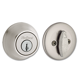Picture of 660 X 15 KWIKSET SINGLE CYLINDER DEADBOLT- SATIN NICKEL