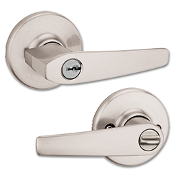 Picture of KWIKSET DELTA ENTRY LEVER -SATIN NICKEL