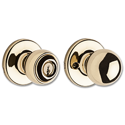 Picture of KWIKSET POLO STOREROOM LOCK- POLISHED BRASS