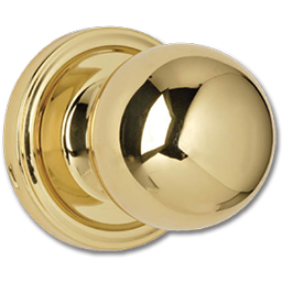 Picture of WESLOCK PASSAGE LOCK - POLISHED BRASS