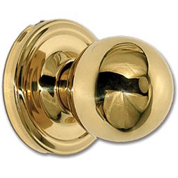 Picture of WESLOCK DUMMY KNOB - POLISHED BRASS