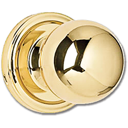 Picture of WESLOCK PRIVACY LOCK  - POLISHED BRASS