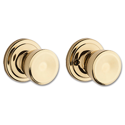 Picture of KWIKSET ABBEY PASSAGE - POLISHED BRASS