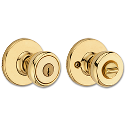 Picture of KWIKSET TYLO ENTRY - POLISHED BRASS