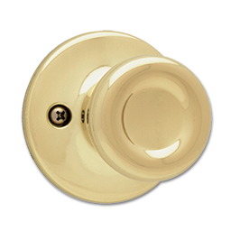 Picture of KWIKSET TYLO DUMMY - POLISHED BRASS