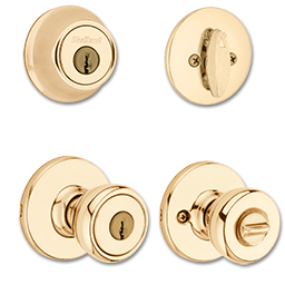 Picture of KWIKSET COMBO PACK - POLISHED BRASS