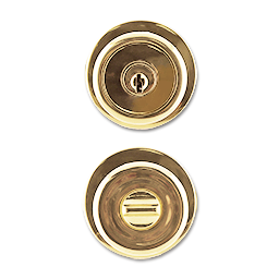 Picture of MAXWELL TULIP ENTRY LOCK - POLISHED BRASS