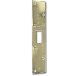 Picture of HEAVY DUTY DEADBOLT STRIKE - POLISHED BRASS