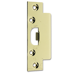 Picture of LIP STRIKE ENTRY PLATE - POLISHED BRASS