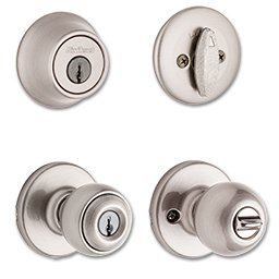 Picture of KWIKSET POLO ENTRY/SC DEADBOLT COMBO SATIN NICKEL