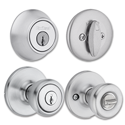 Picture of 690T X 26D KWIKSET COMBO PACK - SATIN CHROME