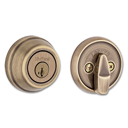Picture of KWIKSET ULTRA MAX SINGLE CYLINDER SMARTKEY DEADBOLT - ANTIQUE BRASS