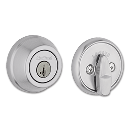 Picture of KWIKSET ULTRA MAX SINGLE CYLINDER SMARTKEY DEADBOLT - SATIN CHROME