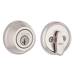 Picture of KWIKSET ULTRA MAX SINGLE CYLINDER SMARTKEY DEADBOLT - SATIN NICKEL