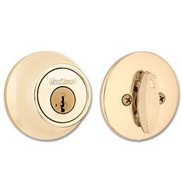 Picture of 660 X 3 SMT KWIKSET SMARTKEY SINGLE CYLINDER DEADBOLT - PB