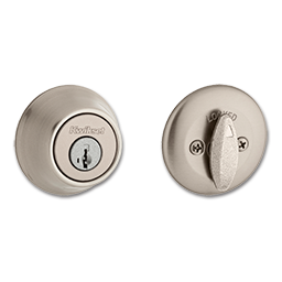 Picture of KWIKSET SMARTKEY SINGLE CYLINDER DEADBOLT - SATIN NICKEL